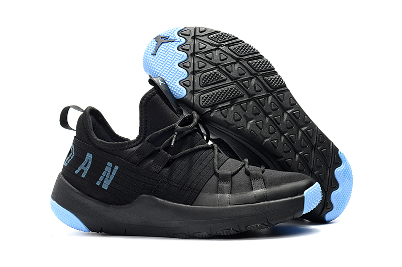 2018 Jordan Training Shoes Black Jade Blue